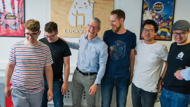 "Apple-baas Tim Cook: ""Nederland is geweldig"""