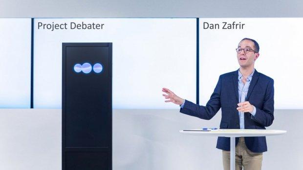 IBM-computer neemt het op tegen professionele debater