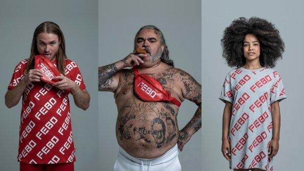 FEBO komt met festivalkleding: een snackshirt en een snacktasje