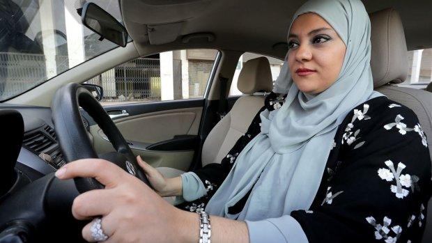 Saoedische vrouwen voor het eerst achter het stuur