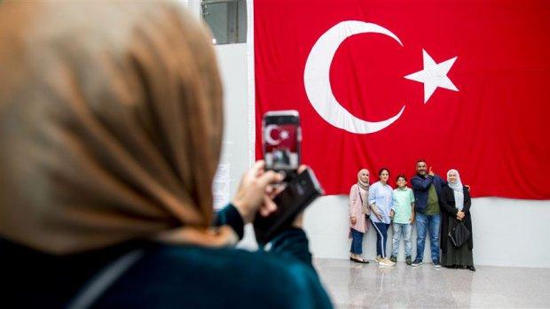 Turkse stemmen in Nederland vooral voor Erdogan
