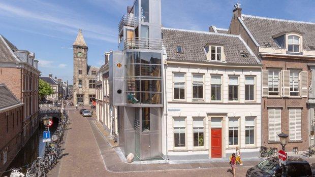 Te koop: Utrechts stalen huis op 13 m2 voor 775.000 euro