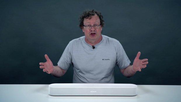Review: soundbar Sonos Beam kan je pratend bedienen