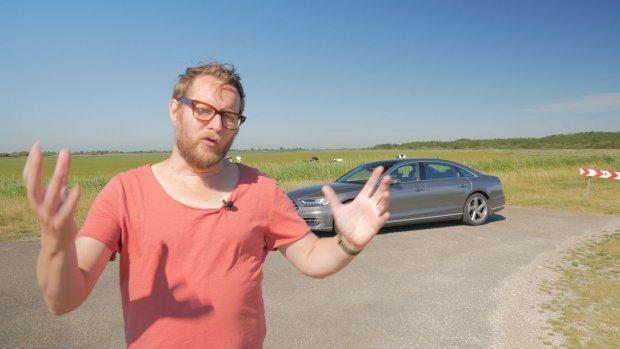 Review Audi A8L: veel tech, maar niet alles werkt goed