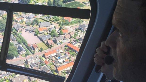 Nieuw: huis bezichtigen vanuit helikopter