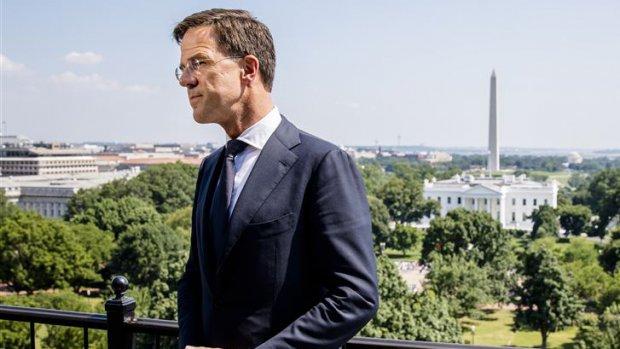 Rutte had 'eerlijk en stevig gesprek' met Trump