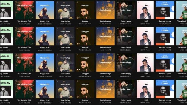 Je kon letterlijk niet om Drake heen op Spotify