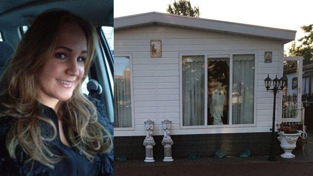 Danielle wil terug naar haar woonwagenkamp