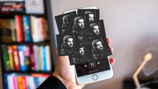 Spotify slaat de plank volledig mis met Drake-overkill
