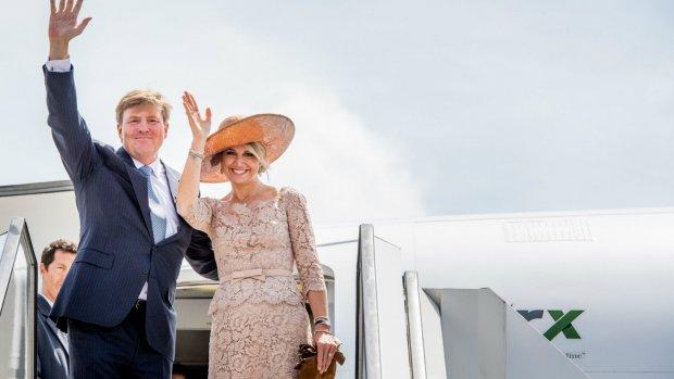 'Eindelijk', Willem-Alexander bezoekt The Queen (92)