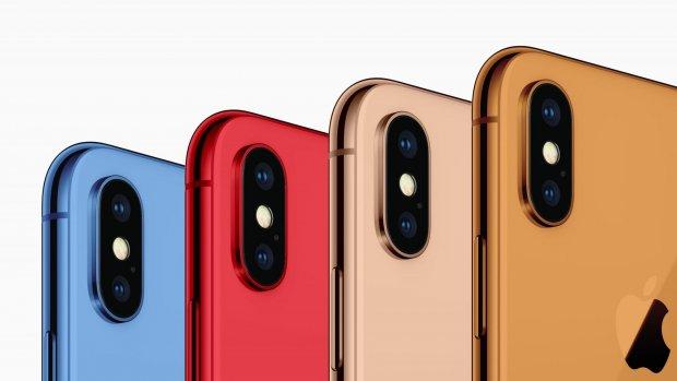 'Nieuwe iPhones komen in blauw, rood, oranje en goud'