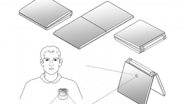 LG patenteert opvouwbare telefoon