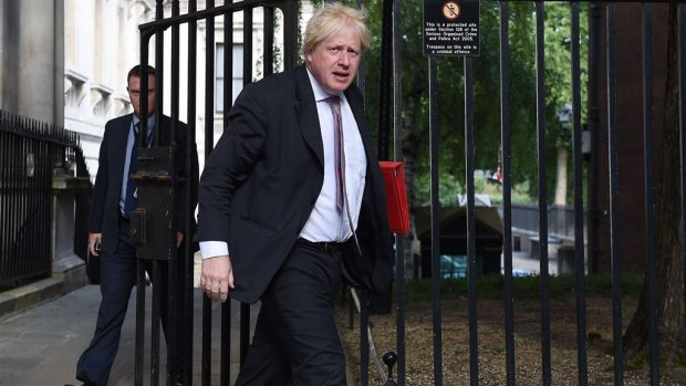 Onenigheid over brexit: ook minister Boris Johnson treedt af