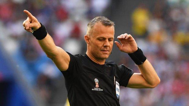 Kuipers vierde official bij Kroatië - Engeland