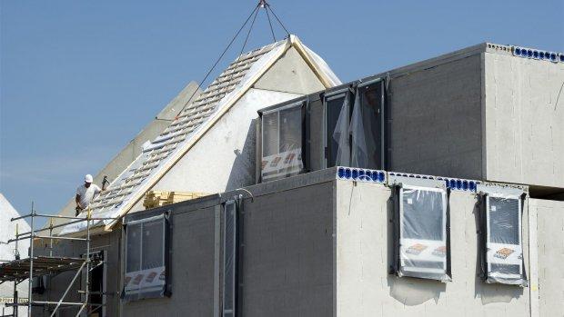 Prijs van nieuwbouwhuizen stijgt pijlsnel