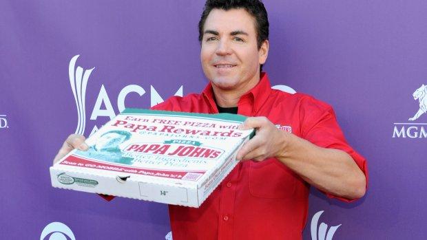Boegbeeld pizzabedrijf Papa John's vertrekt