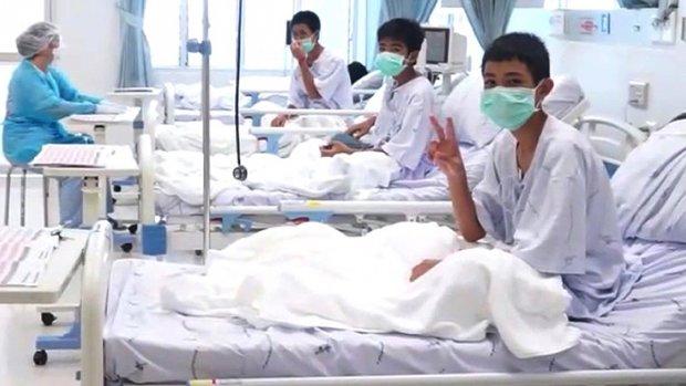 Thaise 'grotjongens' mogen donderdag naar huis