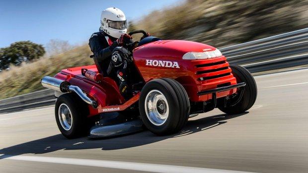 Deze grasmaaier van Honda is de snelste ooit
