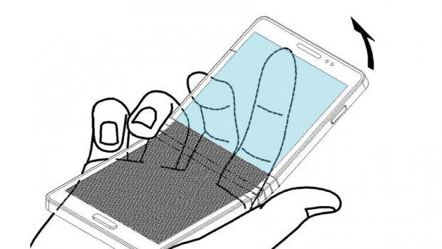 Samsung patenteert buigbare smartphone met een knik
