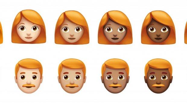 Nieuwe Apple-emoji's: van superheld tot ginger