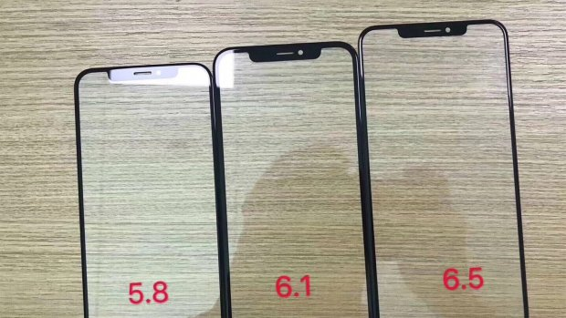 'Schermplaten van nieuwe iPhones gelekt'