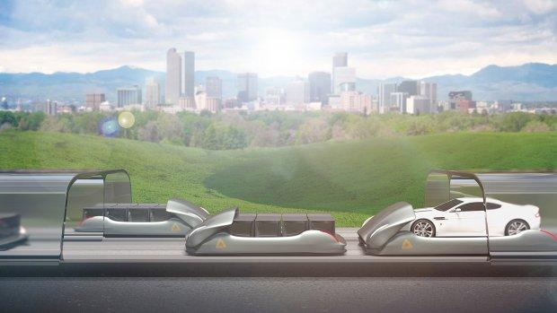 Miljard krediet voor hyperloop voor auto's