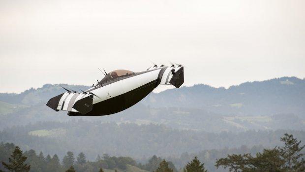 Larry Page heeft nu twee vliegende-auto-startups