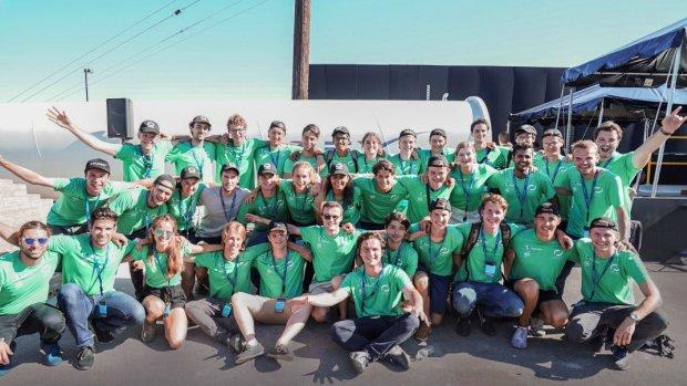 Delfts team tweede bij hyperloop-wedstrijd: 'Enorm trots'