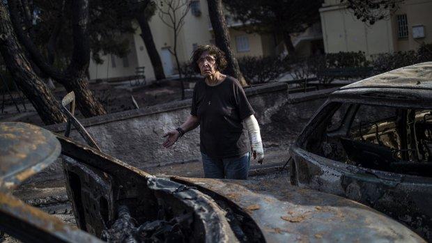 Zeker 50 doden door felle bosbrand Griekenland, dorpen verwoest