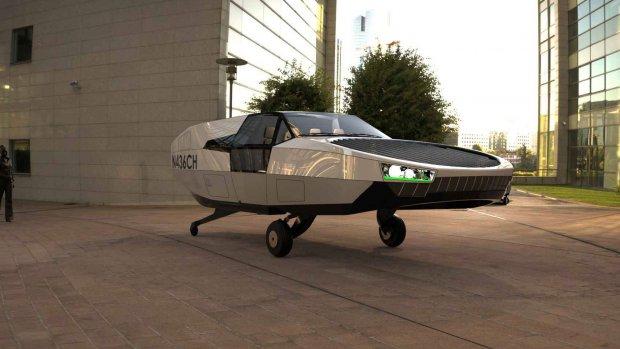Deze vliegende auto heeft geen vleugels