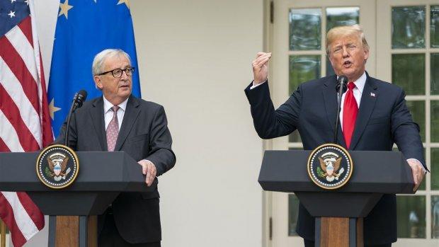 Dit hebben Trump en Juncker afgesproken