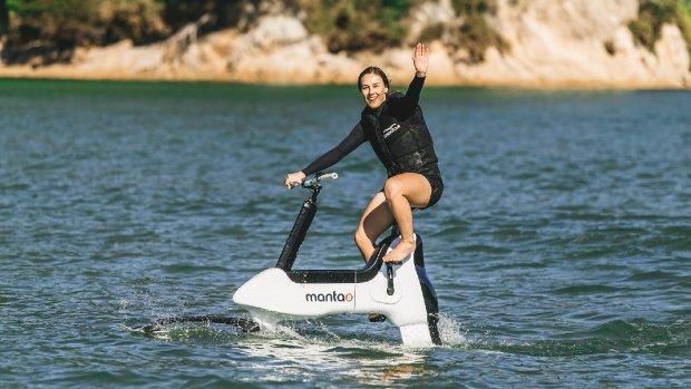 Binnenkort te koop: een e-bike voor op het water