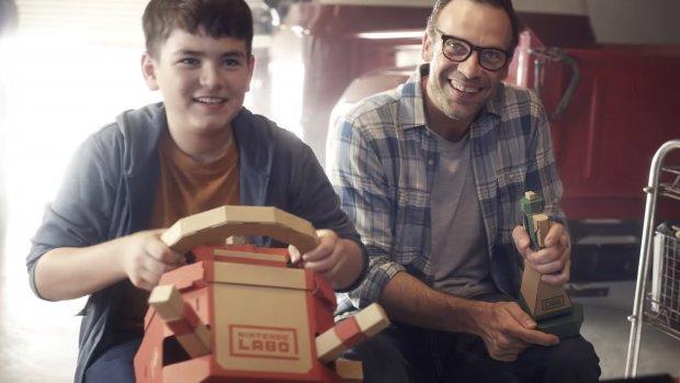 Nintendo Labo krijgt stuur en vliegknuppel
