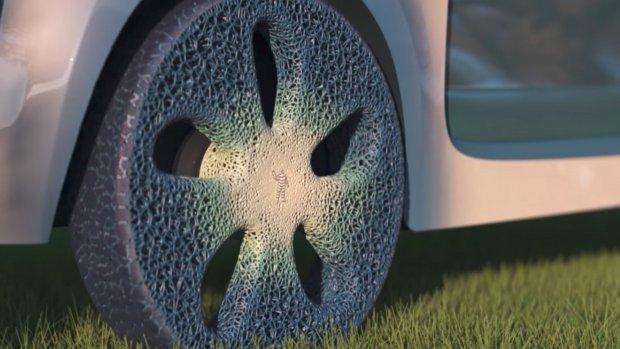 Michelin maakt banden van hout en 3d-geprint rubber