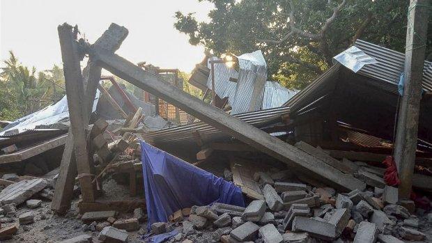 Dodental van aardbeving op Lombok verder opgelopen