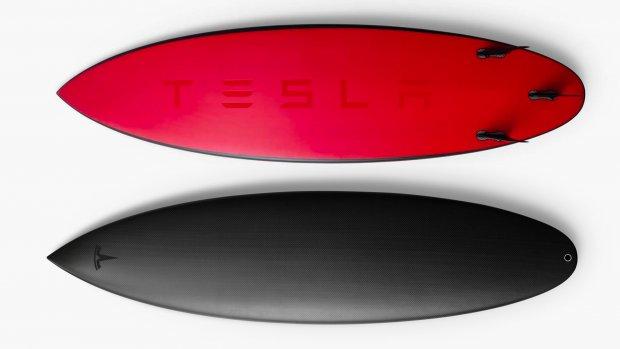 Tesla-surfplank in no-time uitverkocht