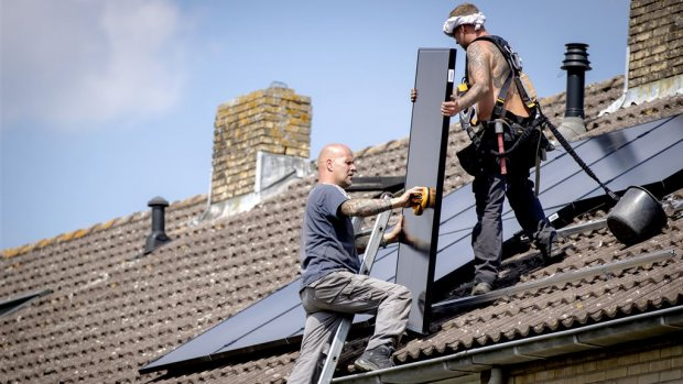 Zonnig 2018 levert recordopbrengst op voor zonnepanelen