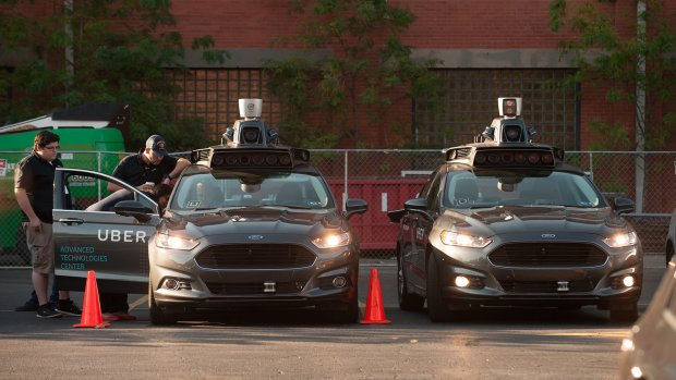 'Uber laat zelfrijdende vrachtwagen varen: focus op auto's'