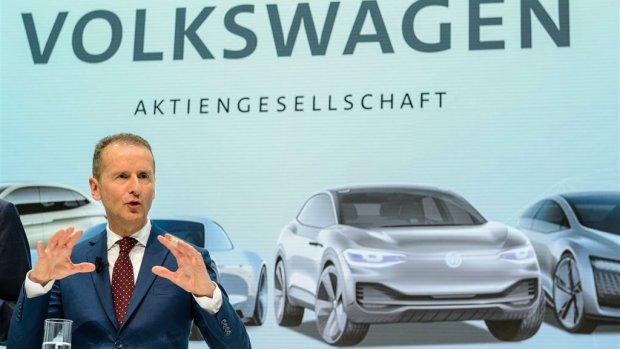 Volkswagen boekte in 2018 recordwinst van 12 miljard euro