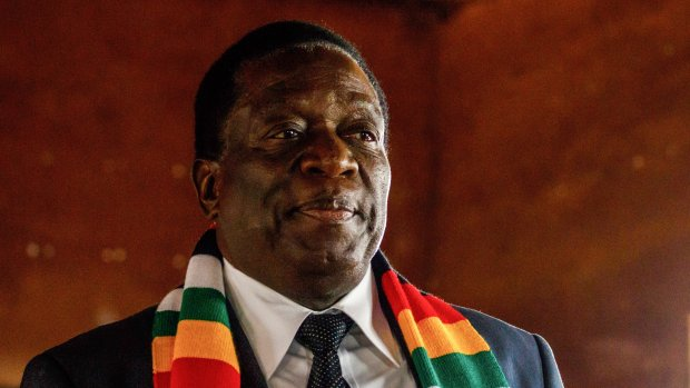 Mnangagwa winnaar in Zimbabwe