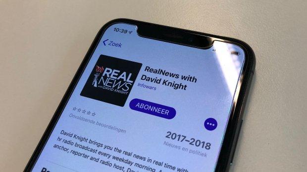 Ook Apple weert omstreden podcast om 'haatzaaien'