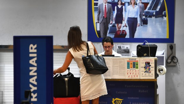 'Reizigers claimen voor 1,3 miljoen bij Ryanair'