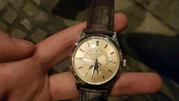 Toerist in Amsterdam beroofd van peperduur horloge