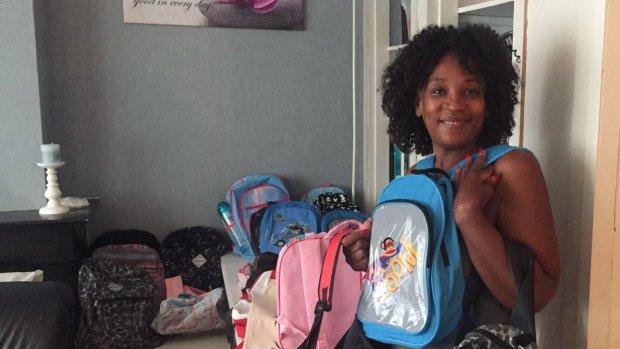Rotterdamse Celien zamelt schoolspullen in voor arme kinderen