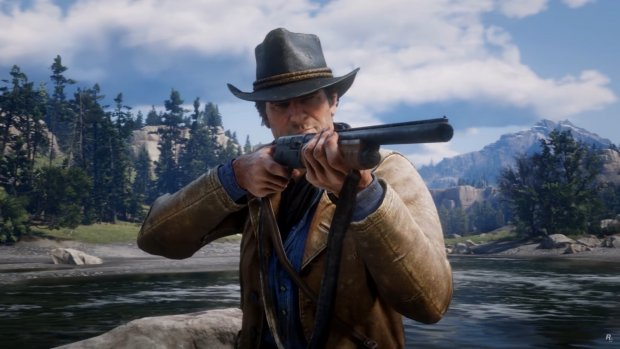 Eerste gameplaybeelden Red Dead Redemption 2 te zien