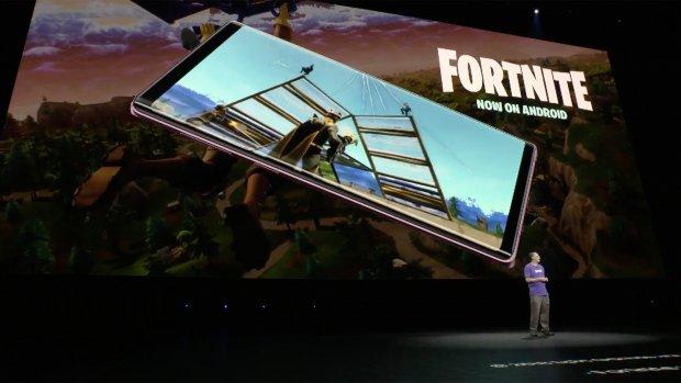 Fortnite voor Android verschenen, eerst bij Samsung