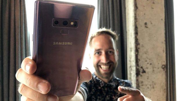 Eerste indruk: Samsung Galaxy Note 9