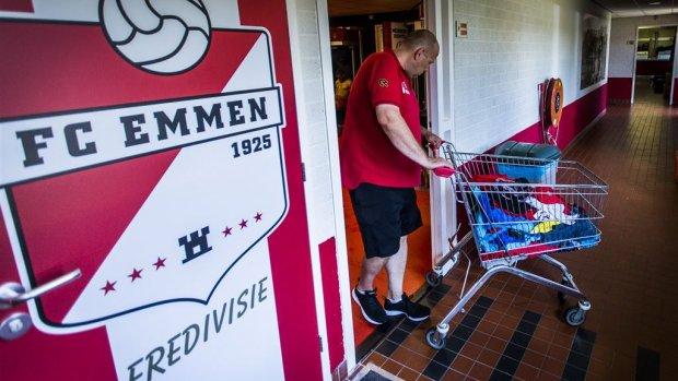 FC Emmen klaar voor de eredivisie: 'We blijven er moeiteloos in'
