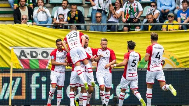 Historische zege: FC Emmen klopt ADO bij debuut in eredivisie