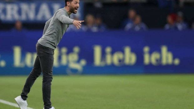 Trainer Tedesco langer bij Schalke 04